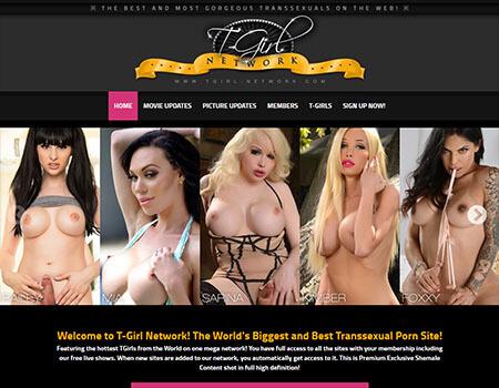 TGirl Network - 28 Pornstar Sites