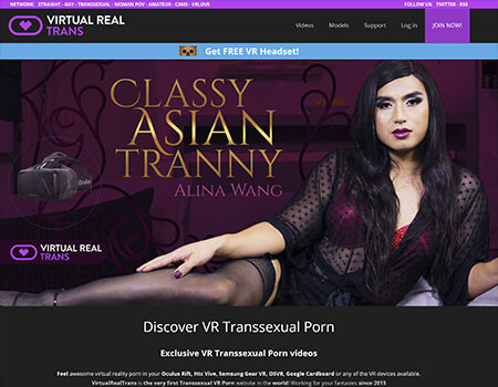 Virtual Real Trans - 5K Trans VR Porn