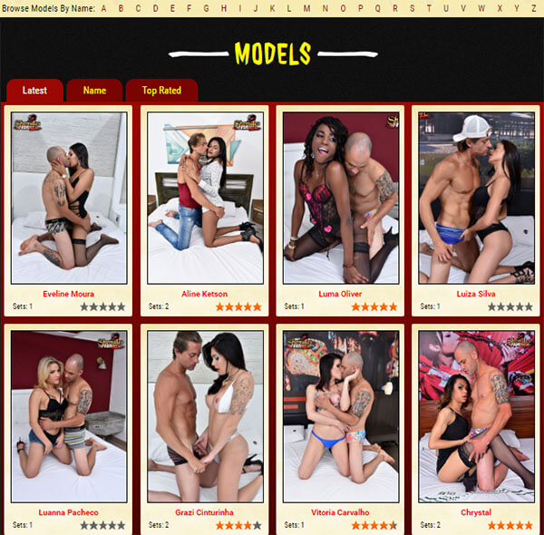 Brazil TGirls Model - Read the full review at TS Reviews
