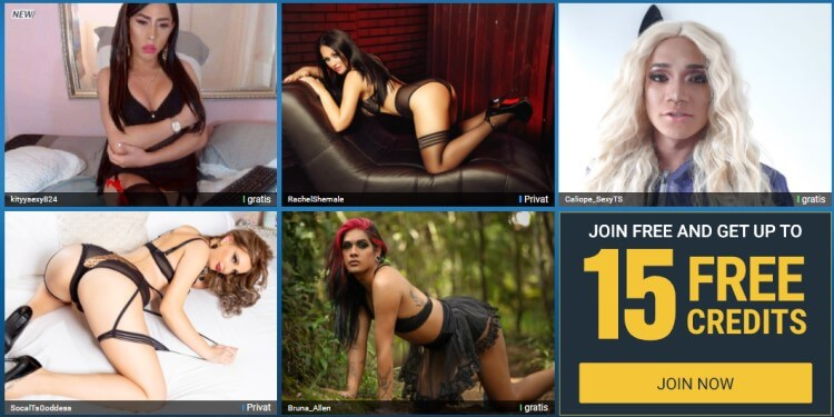 Sexier.com review - Live Trans Porn Site